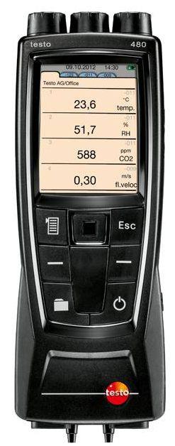 Catalog của thiết bị đo nhiệt độ và độ ẩm 480 testo