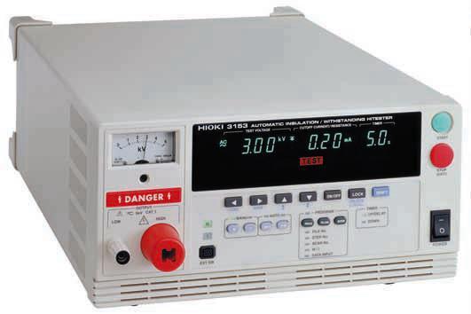 Catalogue cho máy đo độ cách điện hioki 3153 hioki