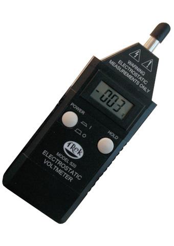 Catalogue cho máy đo độ tĩnh điện 523-1-ce trek