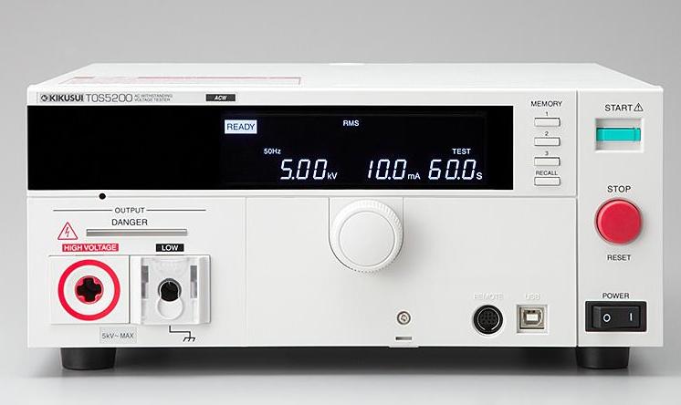 Catalogue cho thiết bị kiểm tra an toàn điện tos5200 kikusui