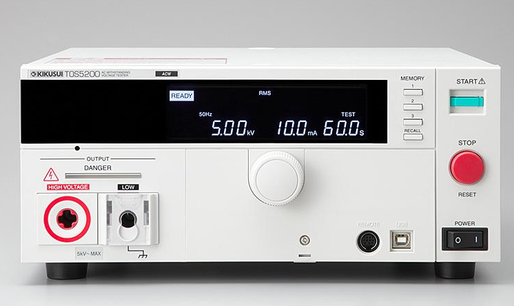 Catalogue cho thiết bị kiểm tra an toàn điện tos5300 kikusui