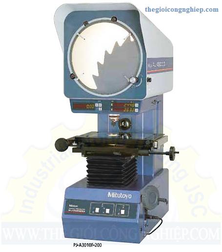 Catalogue của máy chiếu biên dạng pj-a3000 series mitutoyo