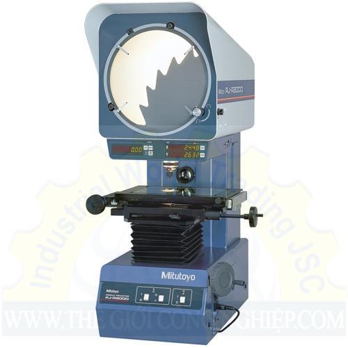 Catalogue của máy chiếu biên dạng pj-h30a2010b mitutoyo
