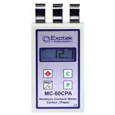 Catalogue máy đo độ ẩm của giấy mc-60cpa exotek