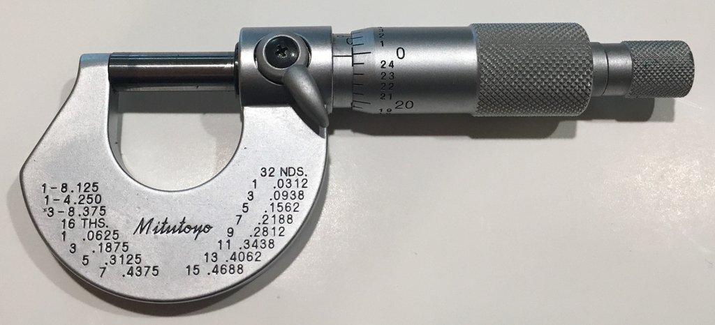 Catalogue panme đo ngoài dạng cơ 101-113 mitutoyo
