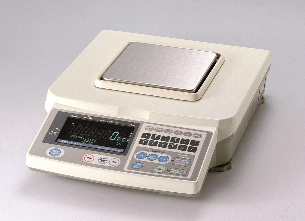 Catalogue cho cân đến FC-5000Si của thương hiệu AND
