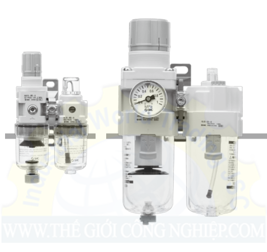 Air Filter Regulator Lubricator AC10A-A to AC40A-A AC10A-A to AC40A-A SMC