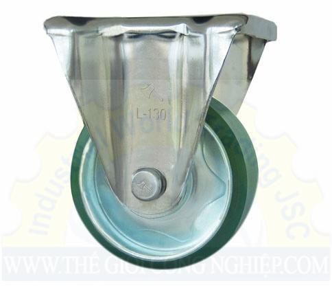Bánh Xe Nhựa PU cố định phi 130 L130CPU PhongThanh