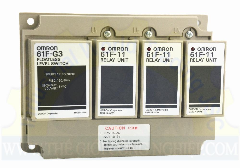 Bộ điều khiển mức 61F-G3-220V Omron