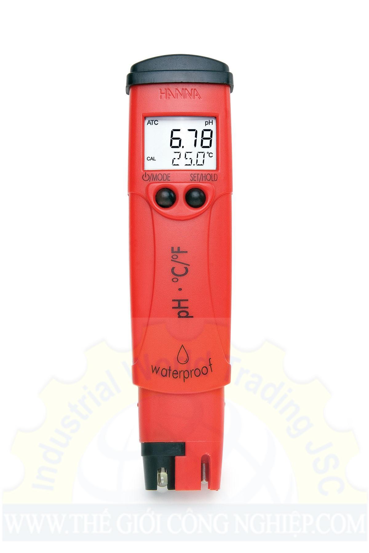 Bút đo pH/Nhiệt độ  HI98128 Hanna