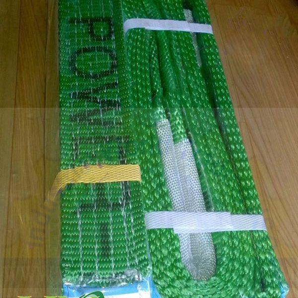 Cáp vải nâng hàng rộng50x dày8 mm, dài 3 mét Myung-sung