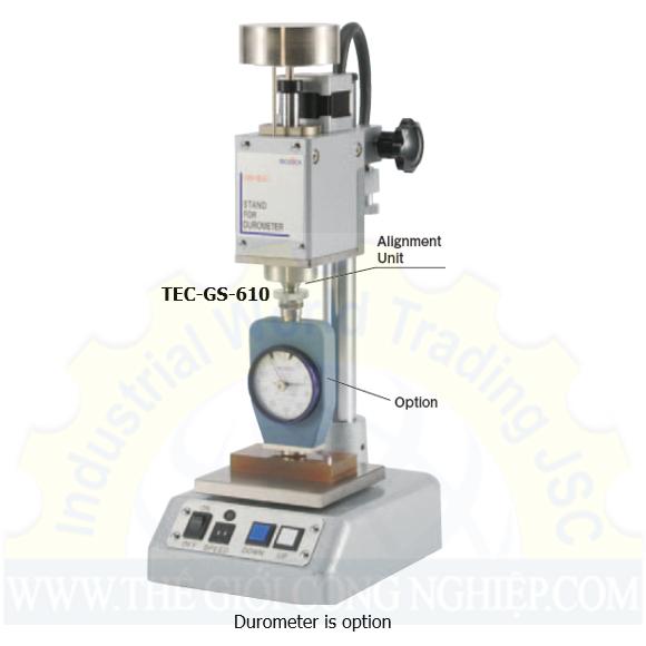 Đế đo tự động dùng cho đồng hồ đo độ cứng cao su GS-610 Teclock