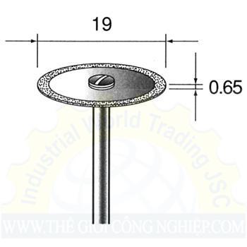 Đĩa cắt kim cương Mini MC1219 Minitor