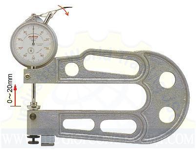 Đồng hồ đo độ dày J-A PEACOCK
