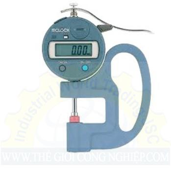 Đồng hồ đo độ dày có dải đo  0 ~ 12 mm  SMD-540S-LS Teclock