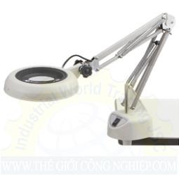 Kính lúp kẹp bàn dùng đèn Led, có độ phóng đại 4 lần SKKL-CF 4X OTSUKA