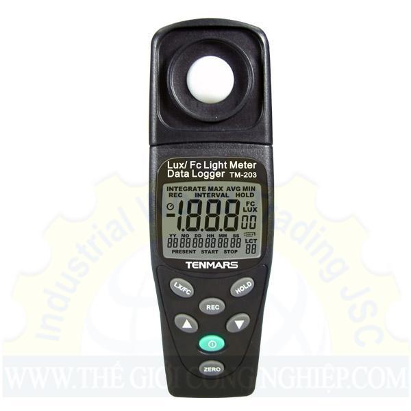 Máy đo cường độ ánh sáng TM-203 Tenmars