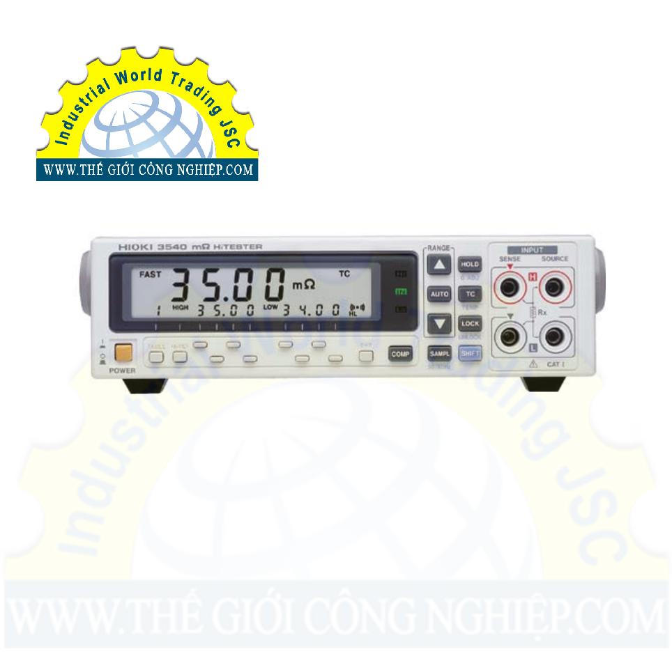 Máy đo điện trở 3540-01 HIOKI
