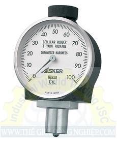 Máy đo độ cứng cao su có dải đo 0~100 điểm  C1L Asker
