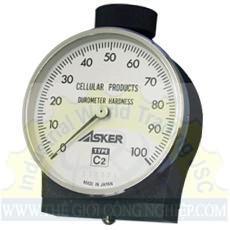 Đồng hồ đo độ cứng cao su Type C2 Asker