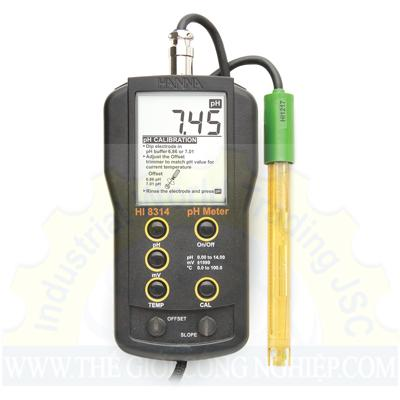 Máy đo pH cầm tay HI8314 Hanna