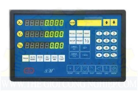 Bộ đọc kết quả đo của máy đo tọa độ 3 chiều DRO FOR PROFILE PROJECTOR Carmar
