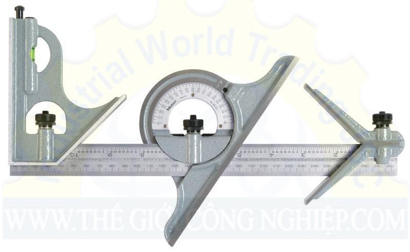 Bộ thước đo góc 180-907B MITUTOYO