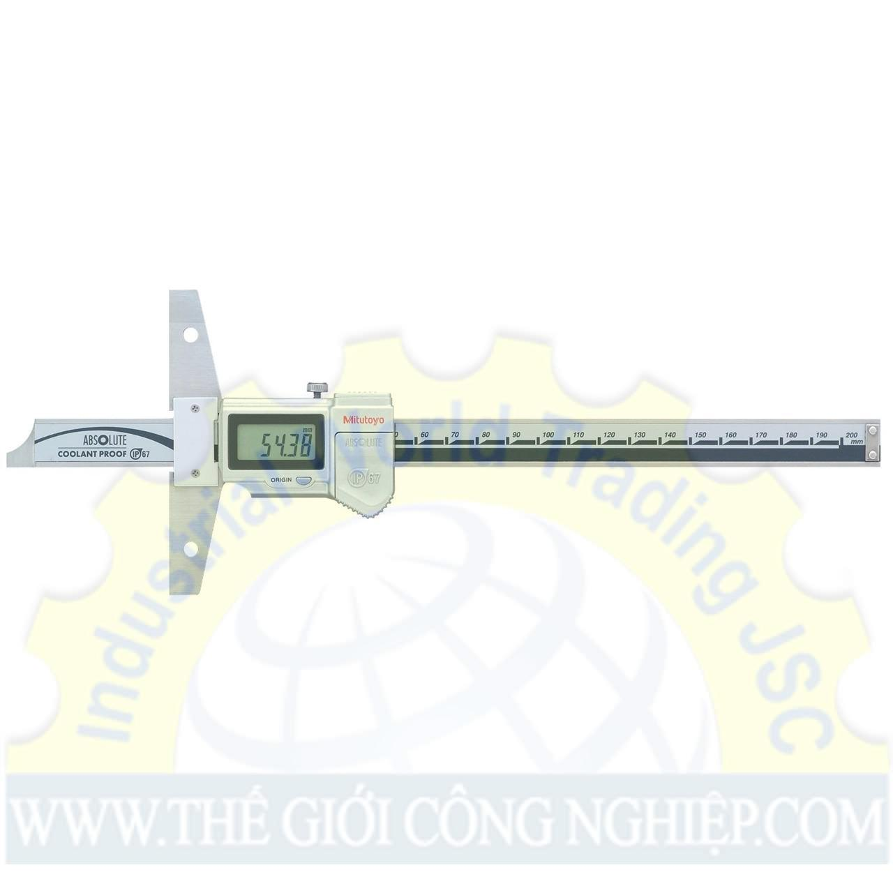Thước đo sâu điện tử 0-600 mm 571-205-10 MITUTOYO