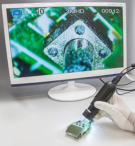 Kính hiển vi điện tử kết nối qua cổng HDMI   MJ-ICT16 Satosokuteiki