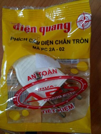 Phích cắm   PC2A-02 Điện Quang