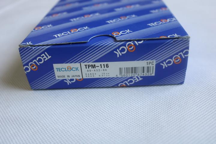 Đồng hồ đo độ dày cơ khí có dải đo 0 ~ 10 mm  TPM-116 Teclock