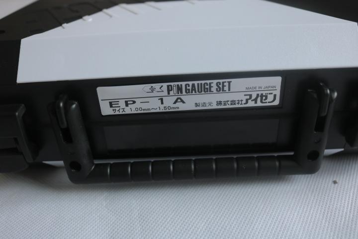 Pin gauge bộ 1.00-1.50mm  EP-1A (Class 0) Eisen
