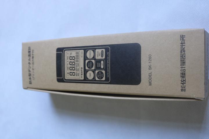 Bộ nhiệt kế điện tử kèm đầu dò -99.9 đến 1250°C  SK-1260 SATO