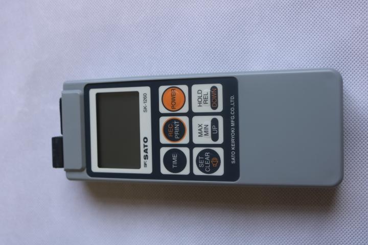 Bộ nhiệt kế điện tử kèm đầu dò -99.9 đến 1250°C waterproof Digital Thermometer -99.9 to 1250°C SK-1260 SATO