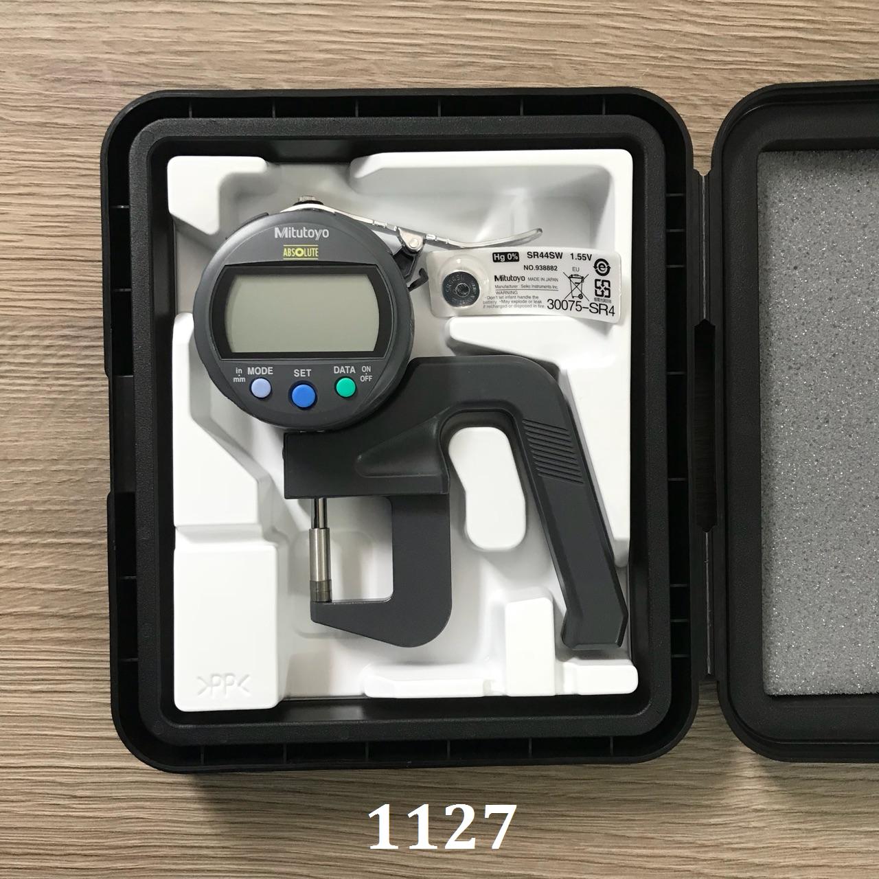 Đồng hồ đo độ dày điện tử 0-12/0.001 mm  547-400S MITUTOYO