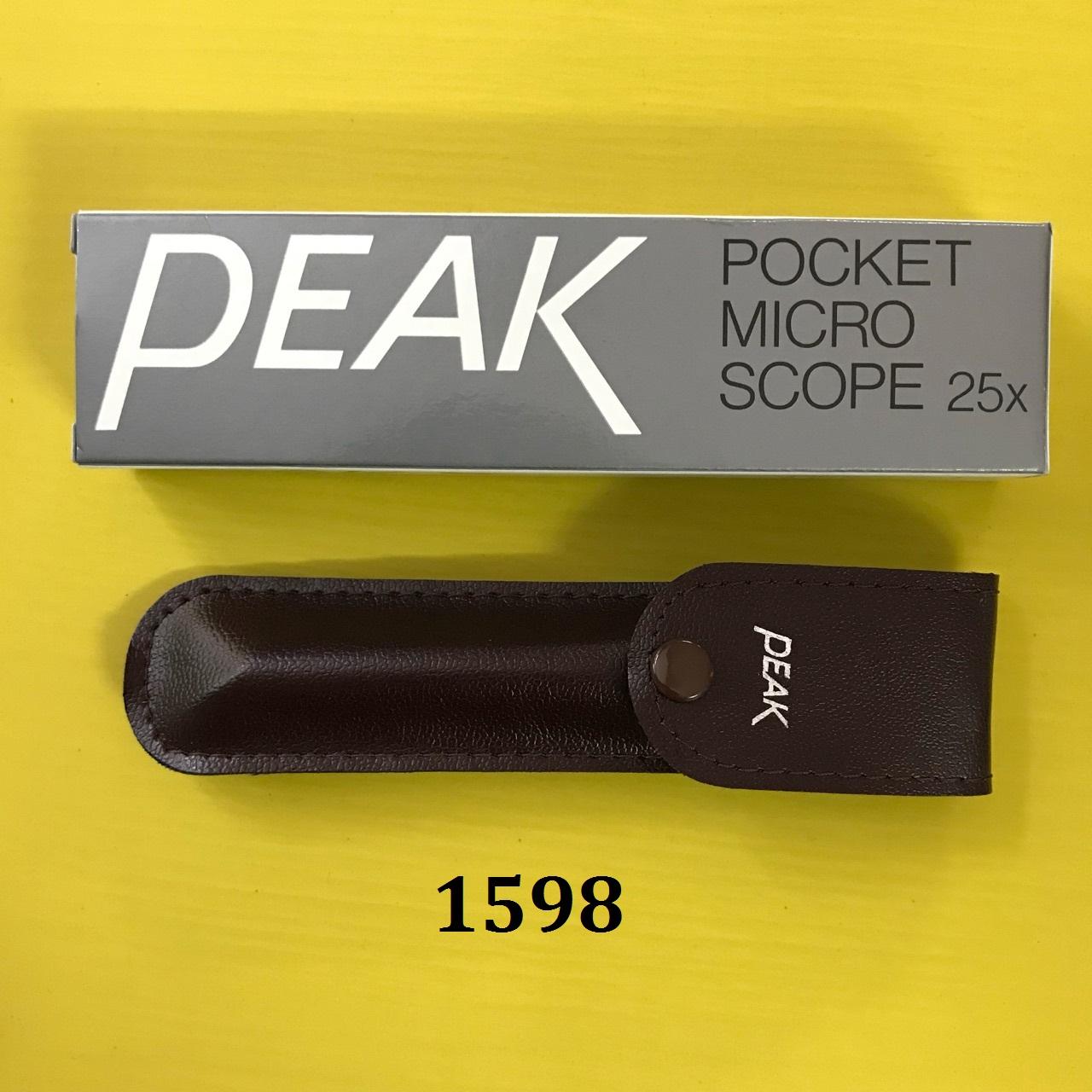 Kính hiển vi bỏ túi dạng bút, độ phóng đại 25X kính hiển vi bỏ túi, Pocket Microscope 2001-25 PEAK
