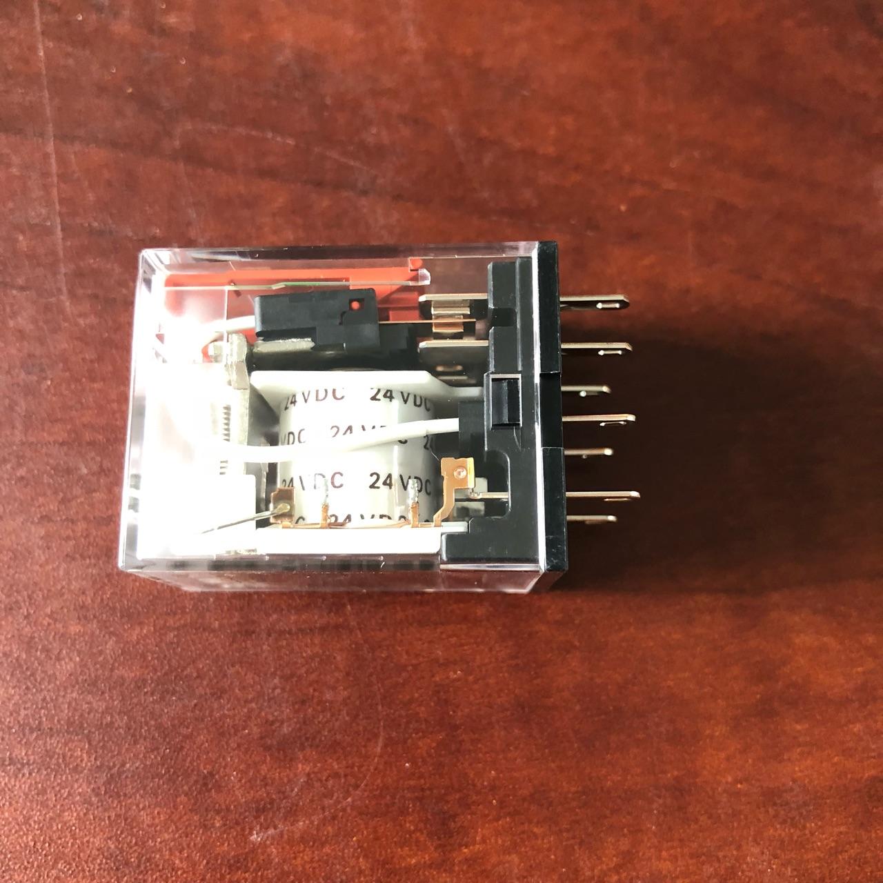Rơle 8 chân, 24VDC  MY2N-GS DC24 BY OMZ Omron