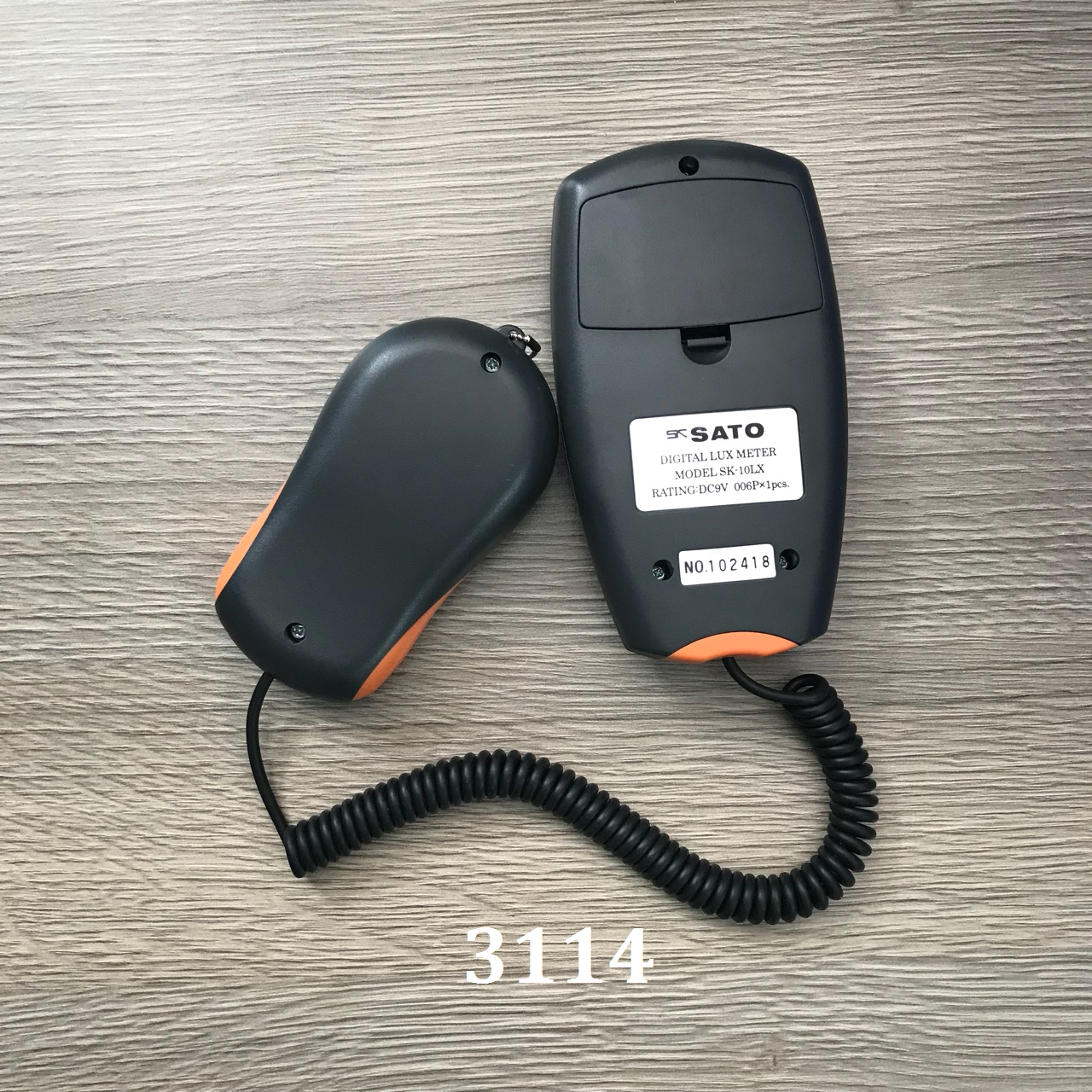 Thiết bị đo độ sáng 1 đến 100.000 (Lux) thiết bị đo độ sáng Sato, SK-10LX SK-10LX No.1732-20 SATO