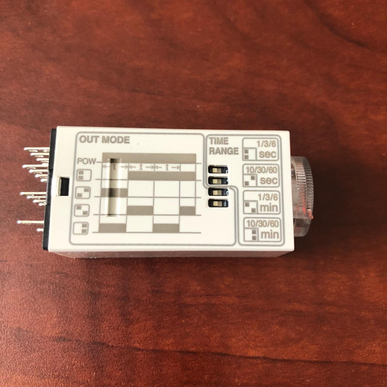 Timer 14 chân dẹp nhỏ (220 VAC) bộ đình thì ( 220 VAC ) T21-1-4A20 T21  1  4A20 HANYOUNG