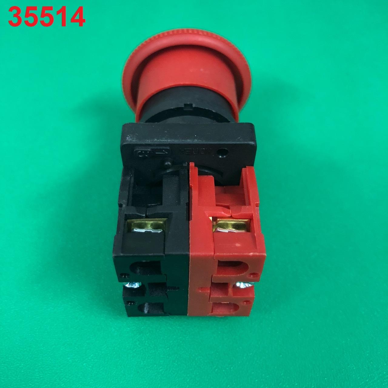 Nút nhấn khẩn cấp phi 22  PGE-4R12 SHPG-20 Sungho
