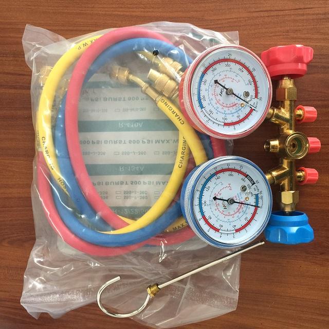 Đồng hồ đo áp suất gas máy lạnh  SBF-T-536H China