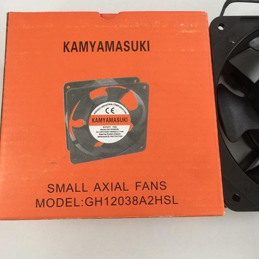 Quạt hút có kích thước 120 x 120 x 38mm, Điện áp 220-240V  GH12038HSL KAMYAMASUKI