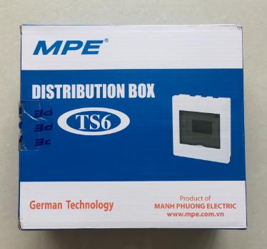 Tủ điện âm tường chứa MCB  TS-6 MPE