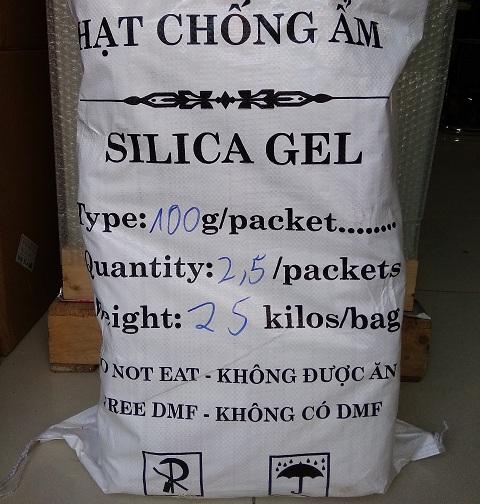 Gói hạt hút ẩm silicagel 100g  TGCN-19077 China