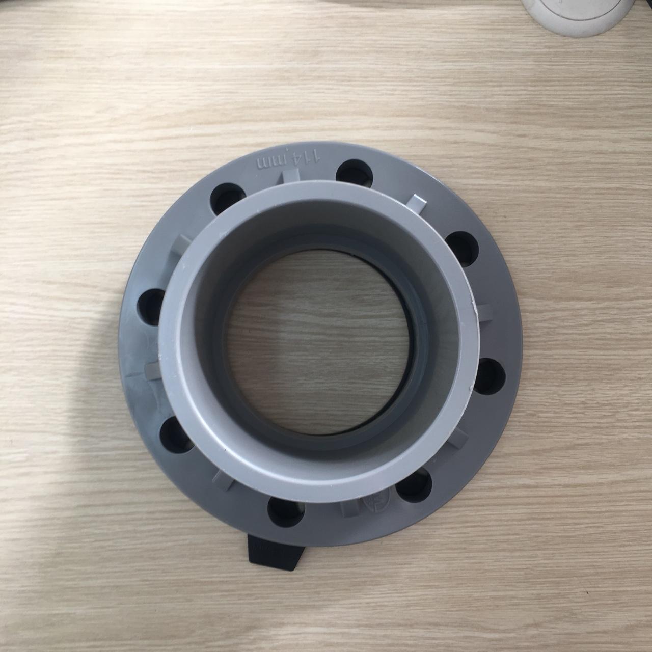 Mặt bích PVC Ø114  TGCN-29638 Nhựa Bình Minh