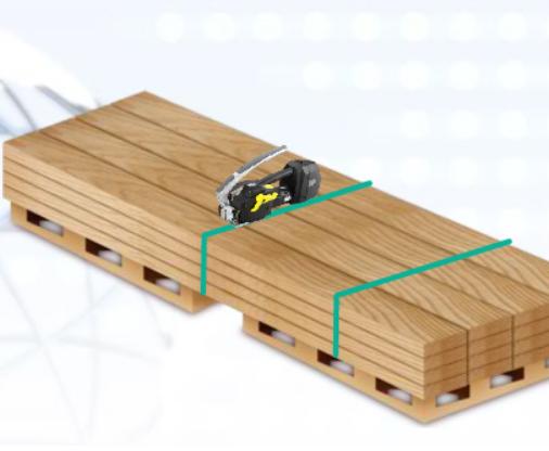 Máy đóng đai nhựa dùng pin  ZP22-9C-Li Zapak