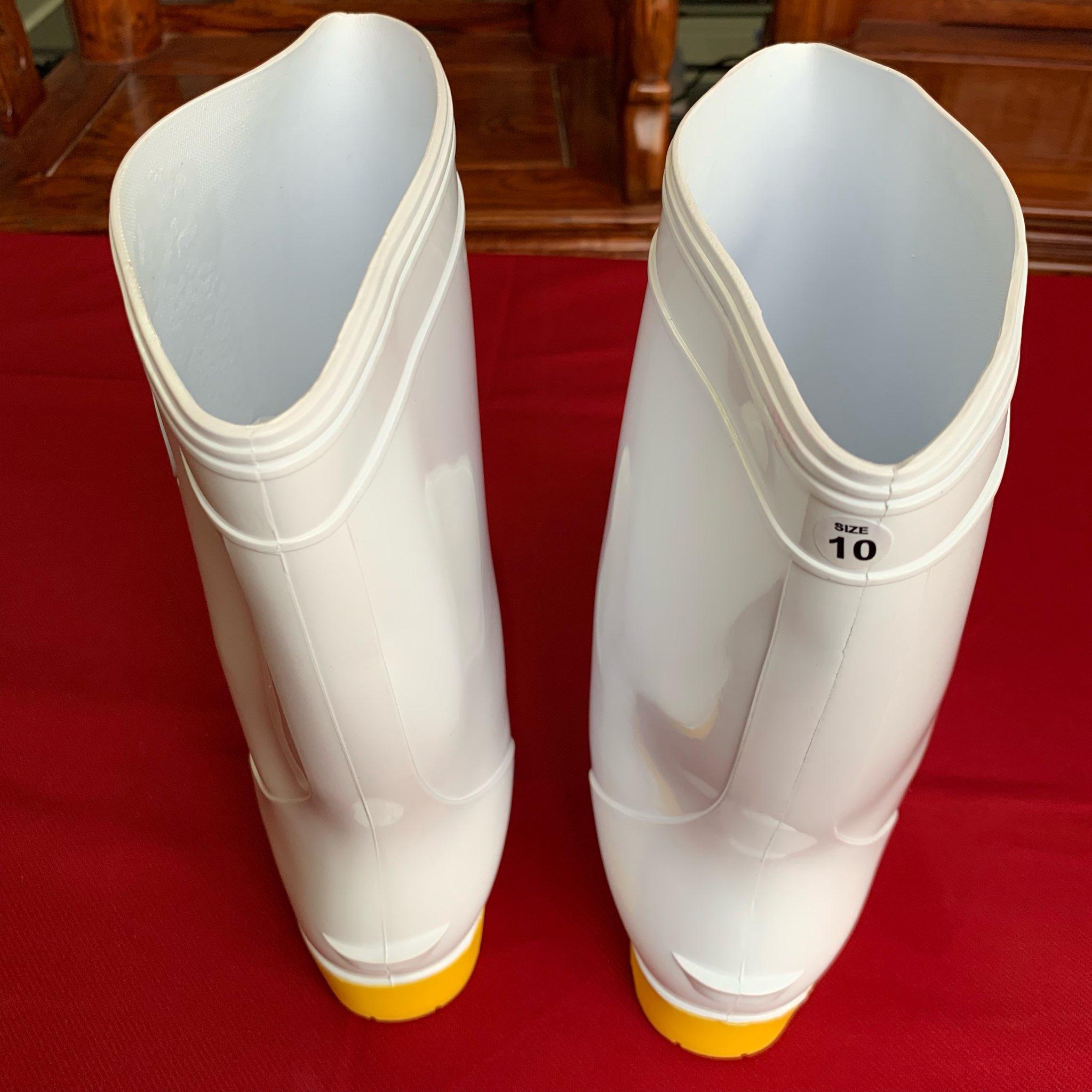 Ủng bảo hộ thân trắng đế vàng  RB003 size 43 ( Size 10 ) OEM-1865