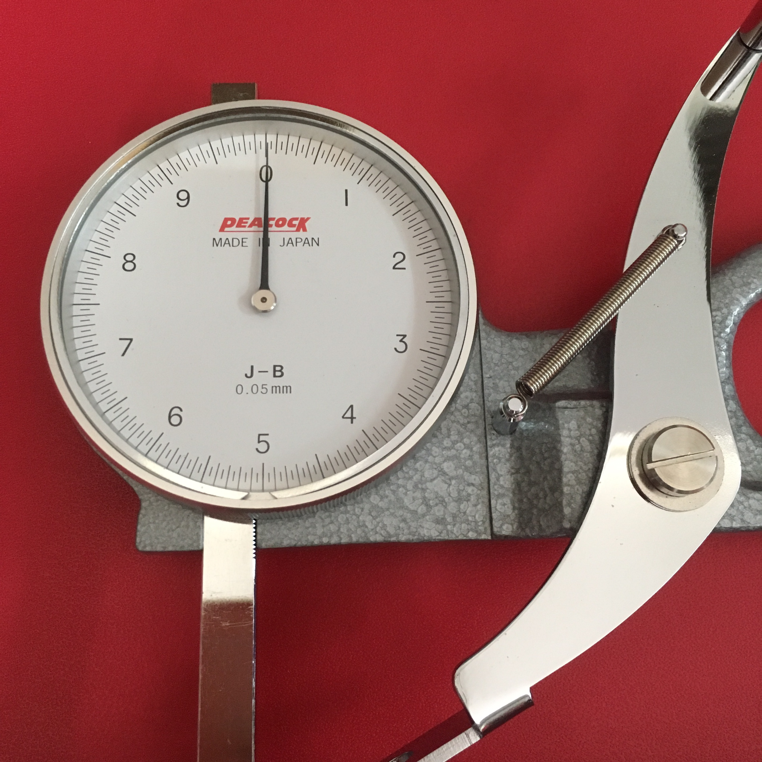 Đồng hồ đo độ dày 35x0.05mm  J-B (50mm) PEACOCK