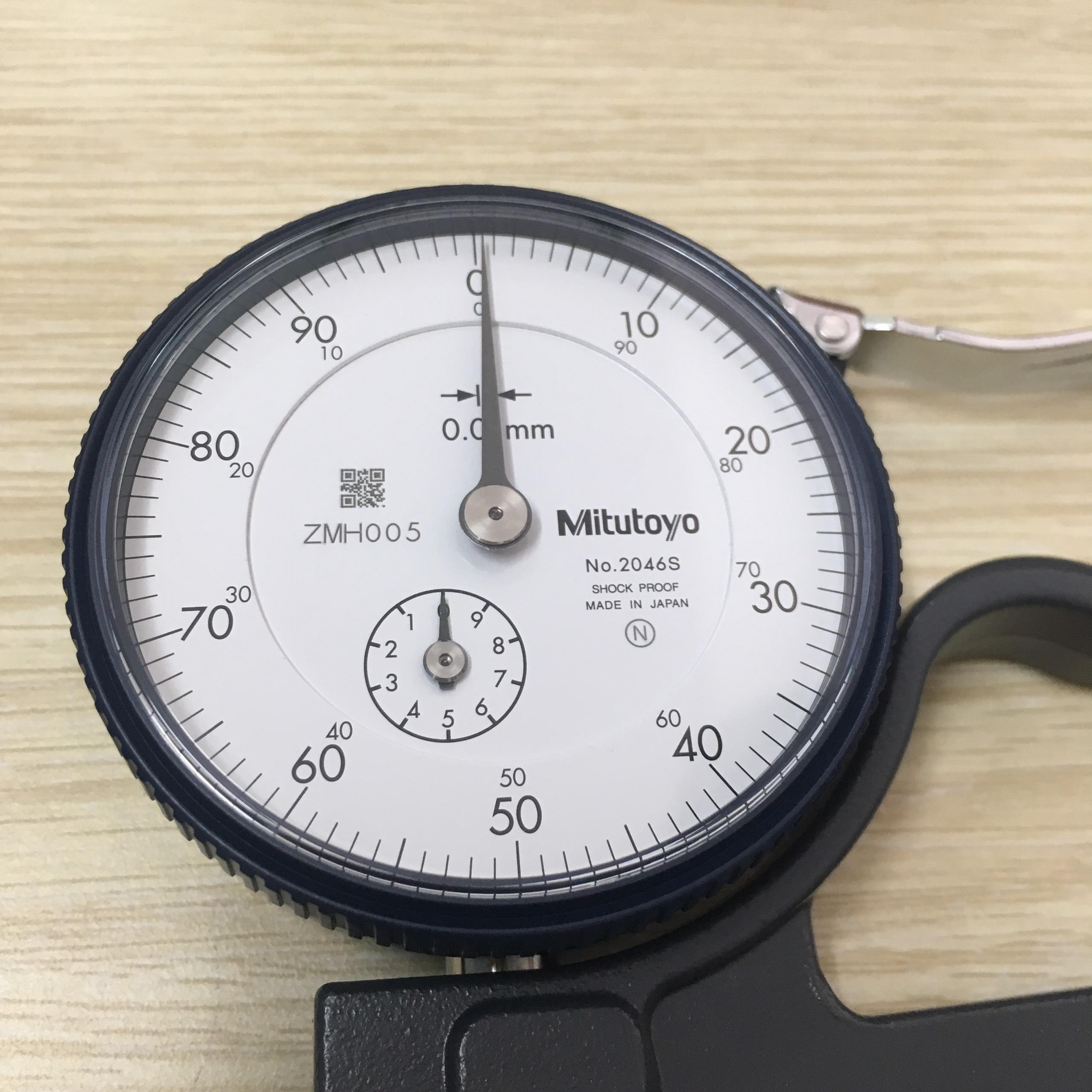 Đồng hồ đo độ dày 0-10mm  7321 MITUTOYO