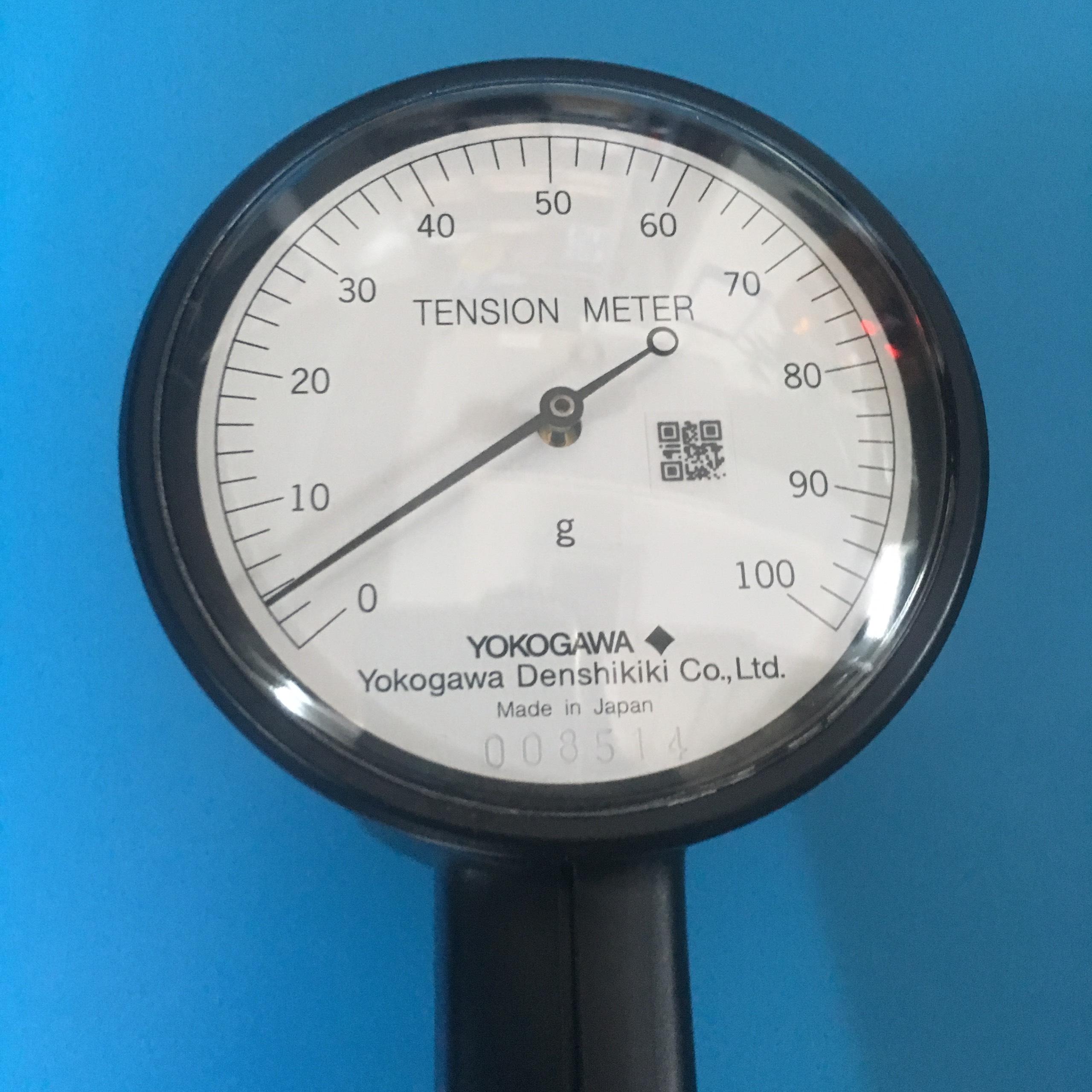 Đồng hồ đo lực căng dải đo 0 - 100g, vạch chia 2g, hiển thị đồng hồ cơ  T-101-10-10 YDK Technologies